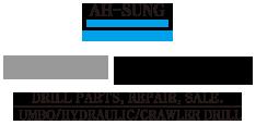 AH-SUNG Engineering / ATLAS, YAMAMOTO, TAMROCK, FURUKAWA, JUNJIN, SOOSAN, TOYO Logo